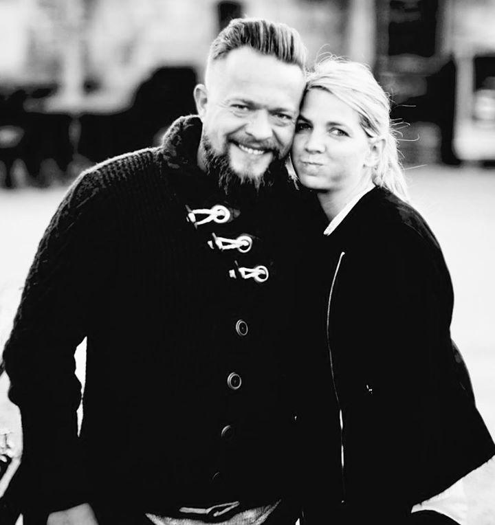 Foto von Michael mit Frau